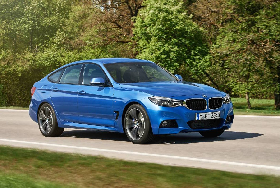 2016 bmw 3 series gran turismo revealed performancedrive. Black Bedroom Furniture Sets. Home Design Ideas