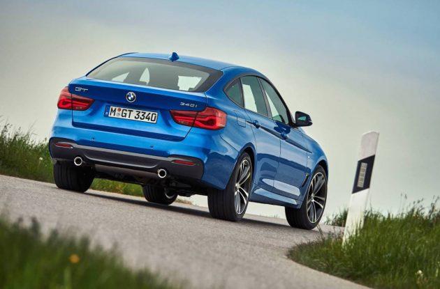 2016 BMW 3 Series Gran Turismo-rear