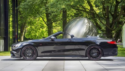BRABUS creates world's fastest / most powerful 4-seat cabrio