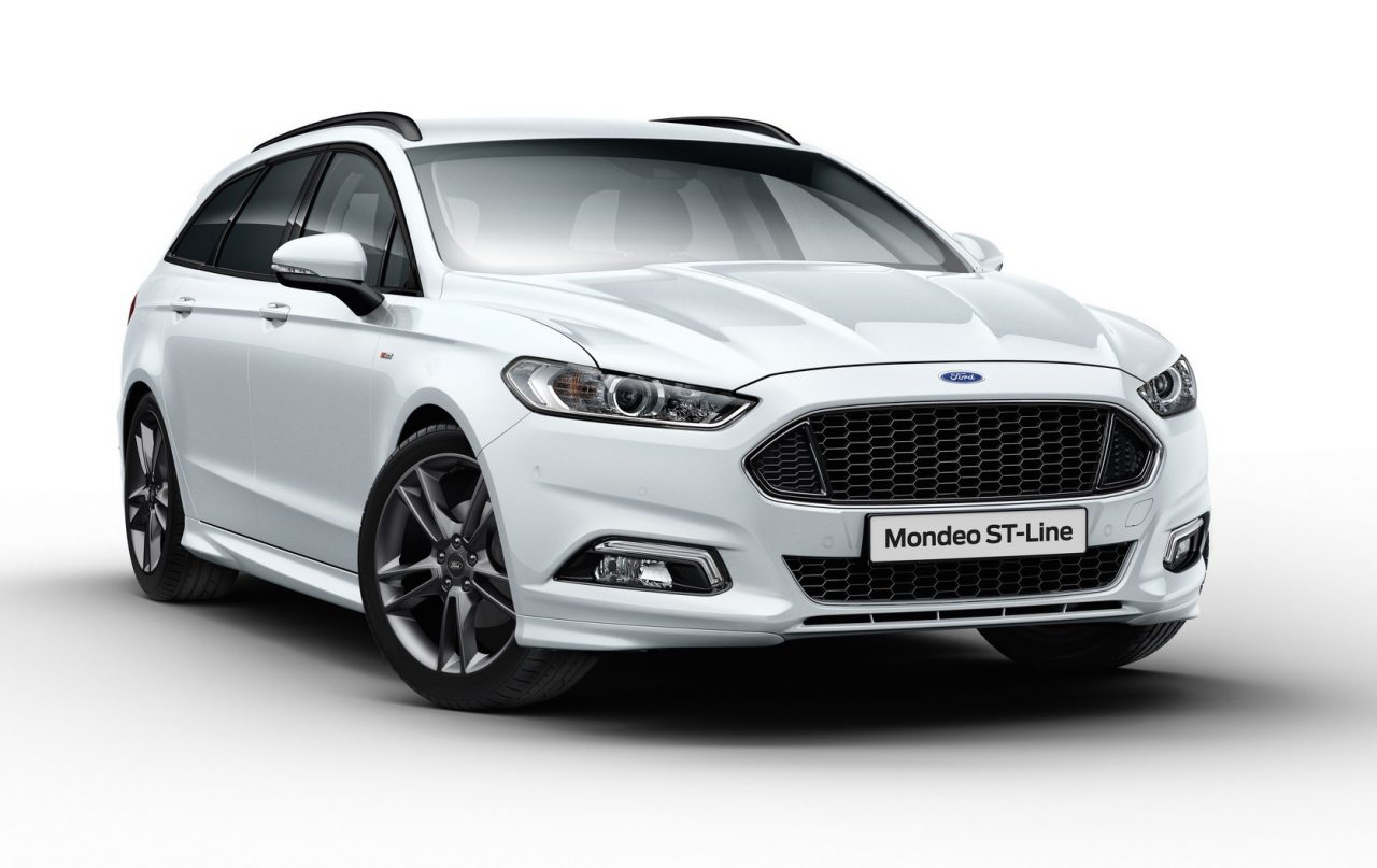 sporty ford mondeo st line announced in europe performancedrive. Black Bedroom Furniture Sets. Home Design Ideas