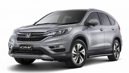 2016 Honda CR-V Limited Edition on sale in Australia from $32,990