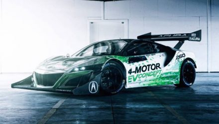 Honda NSX-inspired EV Concept unveiled for Pikes Peak