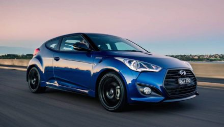 Hyundai Veloster SR Turbo Street edition on sale in Australia