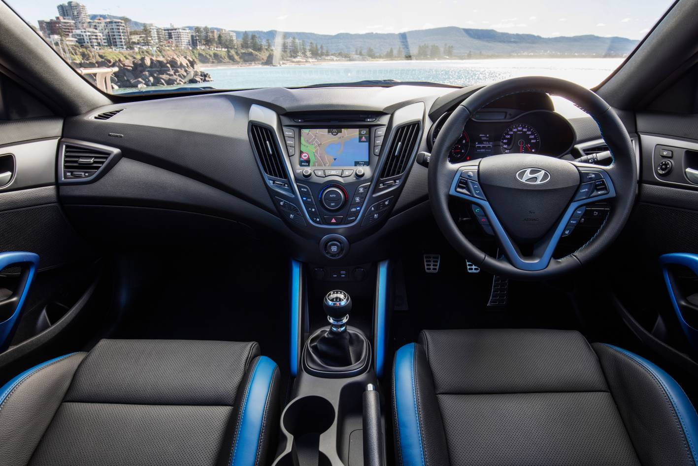 Awesome 2016 Hyundai Veloster SR Turbo Street Interior Pictures