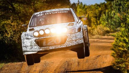 New Hyundai i20 R5 rally car to make public debut at Ypres Rally