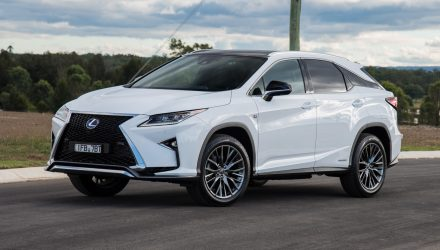 2016 Lexus RX 450h F Sport review (video)