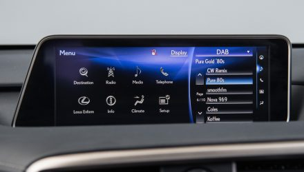 Lexus infotainment systems in the US suffering major issues