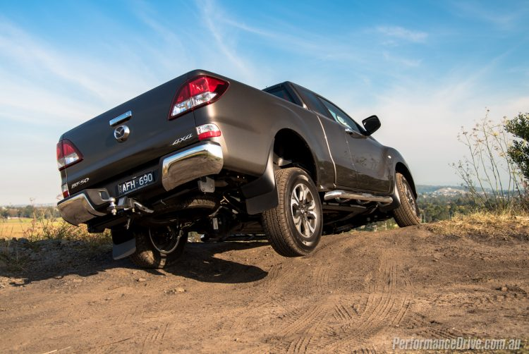 2016 Mazda BT-50 XTR-off road
