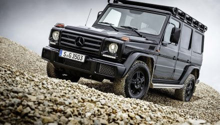 2016 Mercedes-Benz G 350 d Professional announced as more serious off-roader