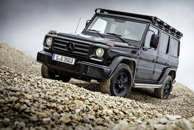 2016 Mercedes-Benz G 350 d Professional