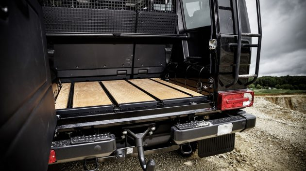 2016 Mercedes-Benz G 350 d Professional-cargo space