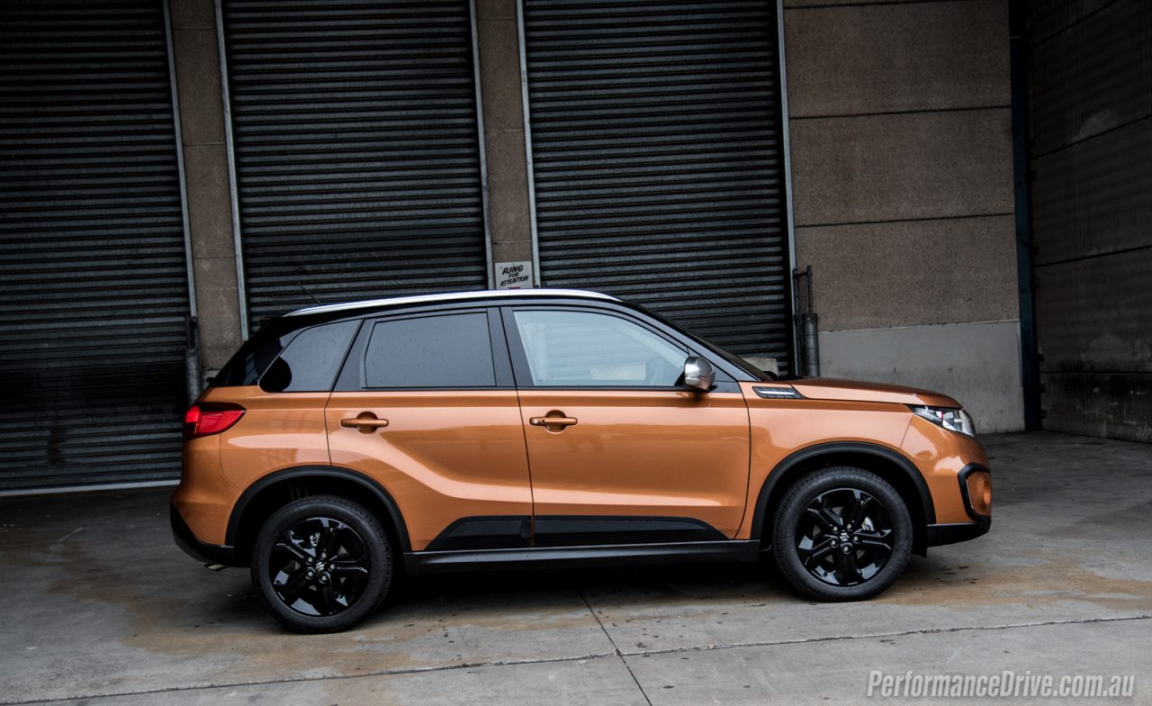 2016 Suzuki Vitara S Turbo Horizon Orange