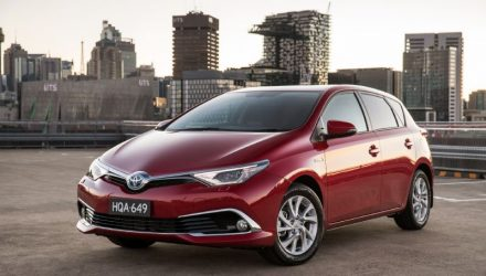 2016 Toyota Corolla hybrid now on sale in Australia from $26,990