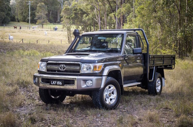 2017 toyota landcruiser 70 series on sale in australia q4 performancedrive. Black Bedroom Furniture Sets. Home Design Ideas