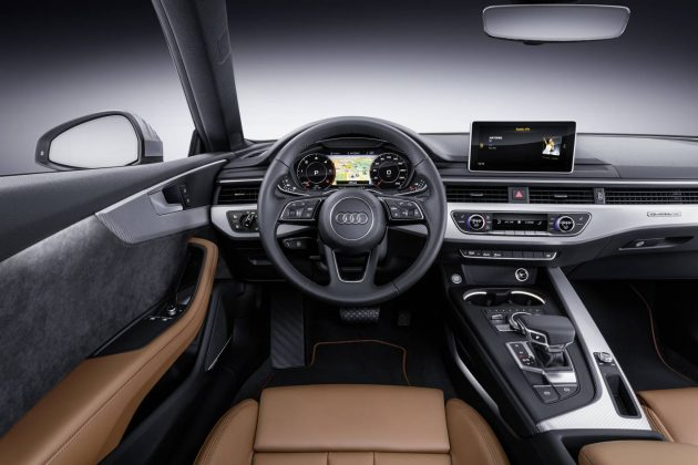 2017 Audi A5 coupe-interior