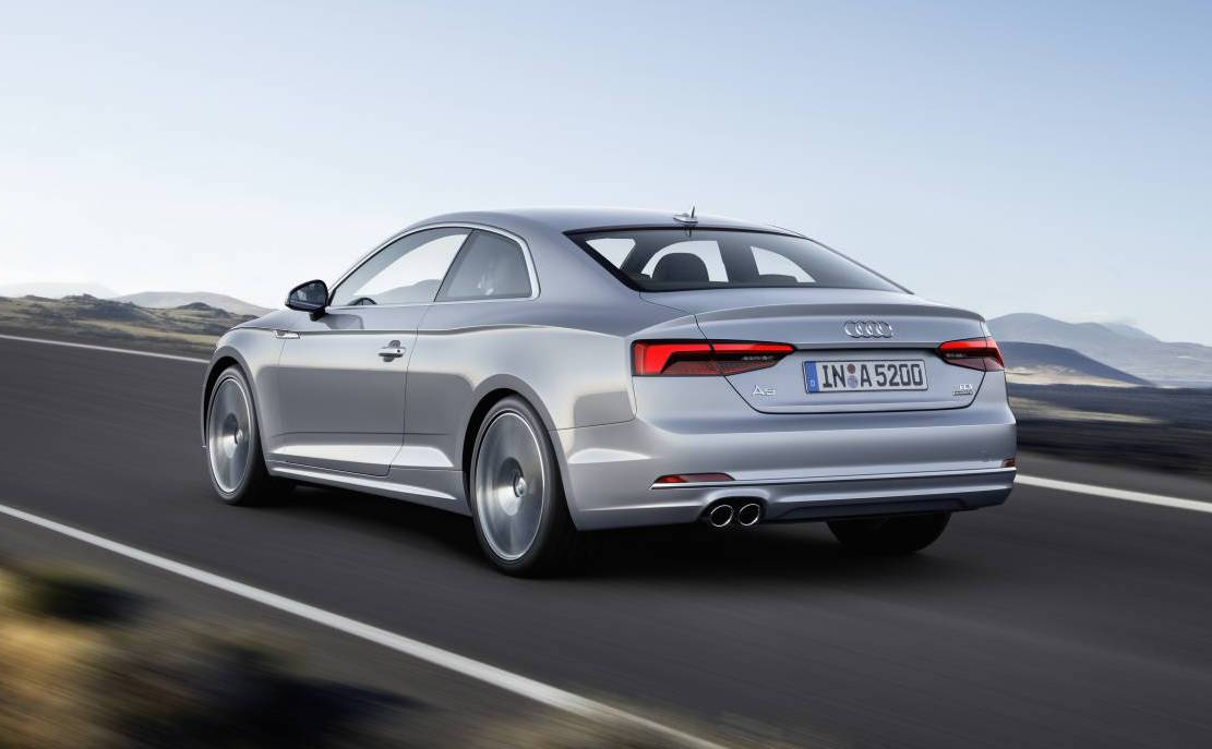 2017 audi a5 s5 unveiled new platform lighter weight performancedrive. Black Bedroom Furniture Sets. Home Design Ideas