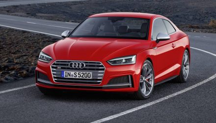 2017 Audi A5 & S5 unveiled; new platform, lighter weight