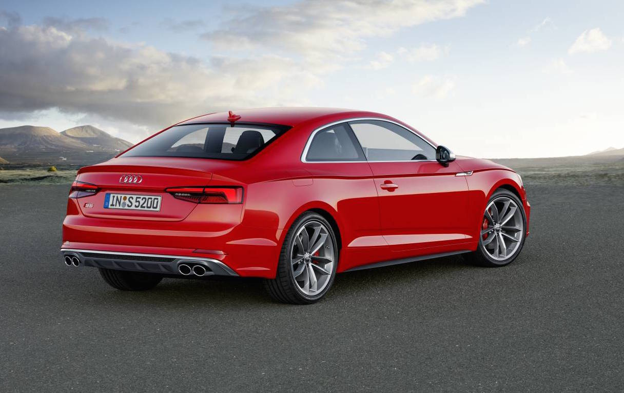 2017 Audi A5 Amp S5 Unveiled New Platform Lighter Weight
