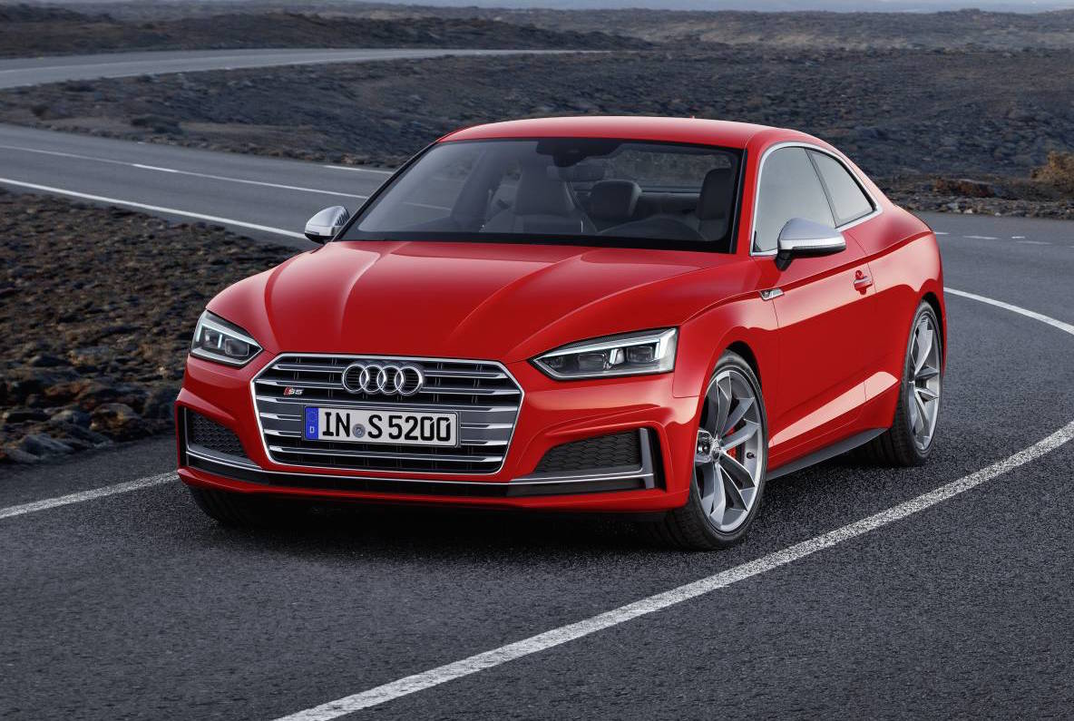 Audi has taken the veil of second-generation A5 and S5 coupe lineup ...
