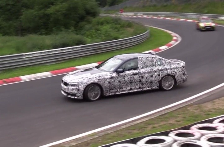 2017 BMW 5 Series G30 prototype