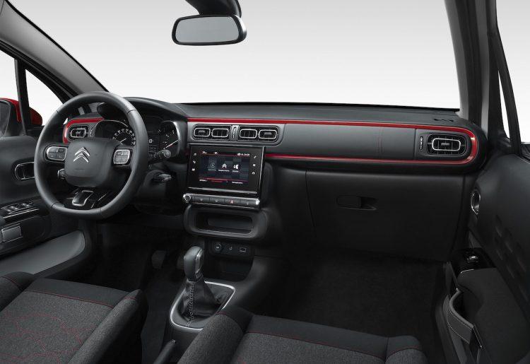 2017 Citroen C3-interior