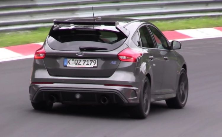 2017 Ford Focus RS500 prototype-rear