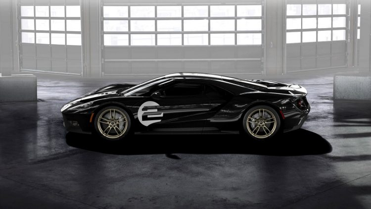 2017 Ford GT 66 Heritage Edition-side