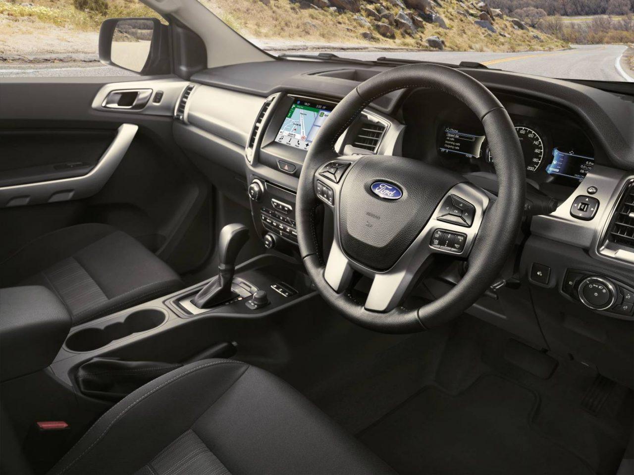 2017 Ford Ranger XLT Interior