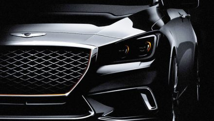 2017 Genesis G80 Sport revealed, gets new 3.3 turbo V6