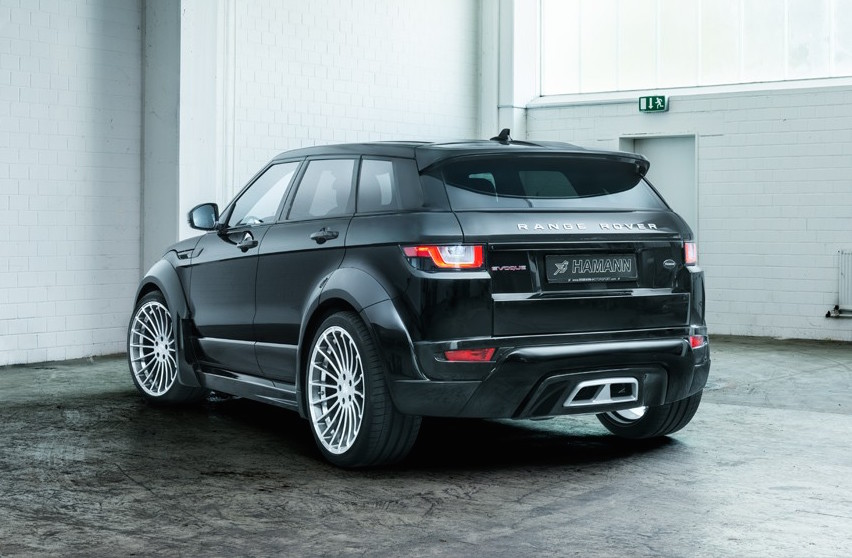hamann tuning for 2017 range rover evoque announced. Black Bedroom Furniture Sets. Home Design Ideas