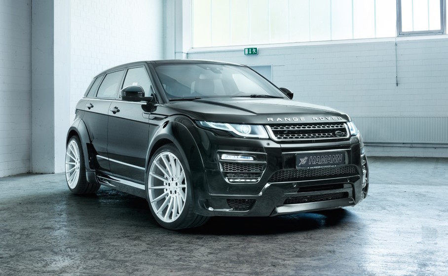 hamann tuning for 2017 range rover evoque announced performancedrive. Black Bedroom Furniture Sets. Home Design Ideas