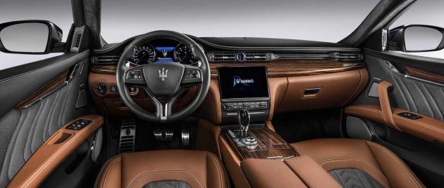 2017 Maserati Quattroporte GranLusso-dash