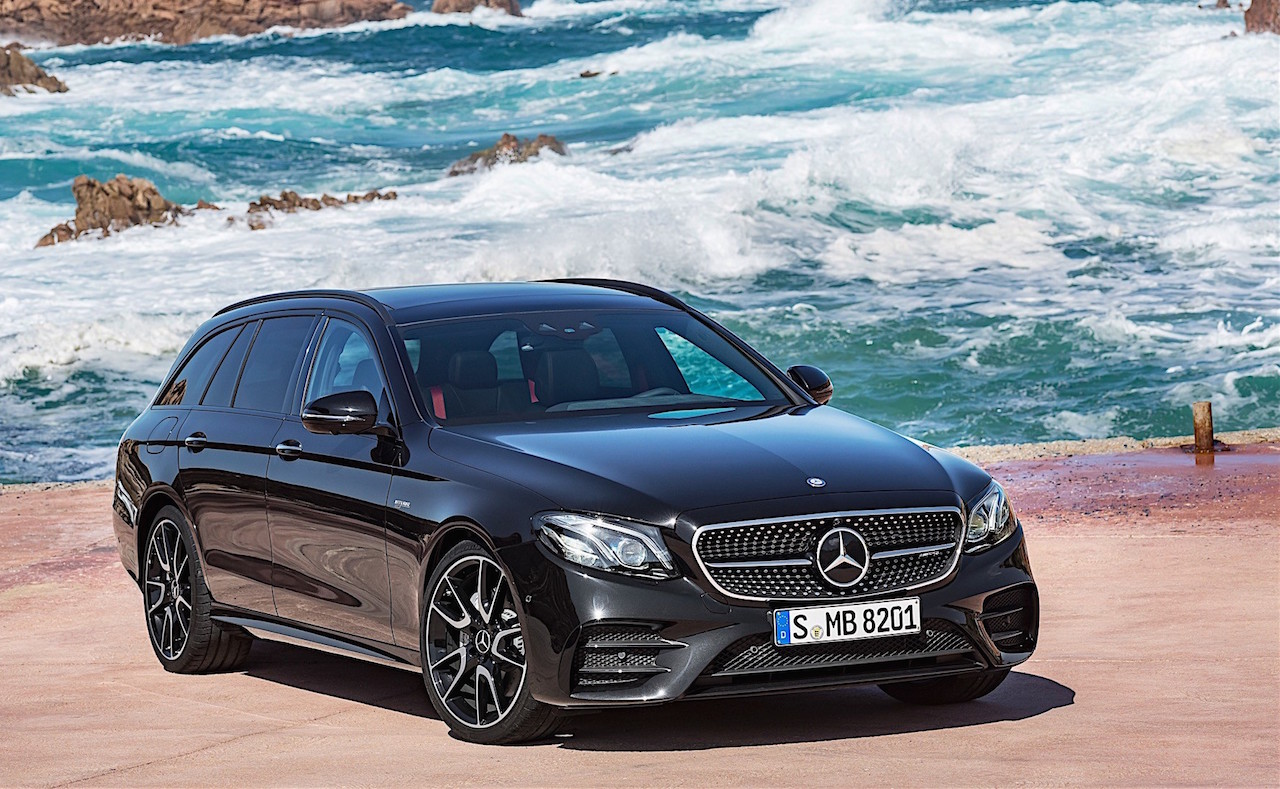 2017 mercedes benz e class estate revealed 295kw e 43 amg for Mercedes benz e class amg 2017