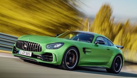 Mercedes-AMG GT R makes official debut
