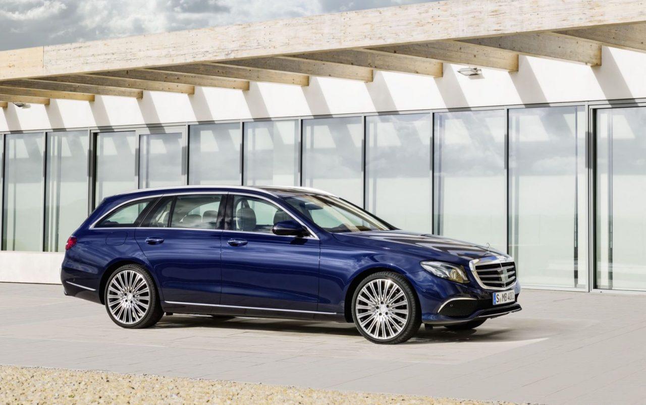2017 Mercedes-Benz E-Class Estate revealed, 295kW E 43 AMG added ...