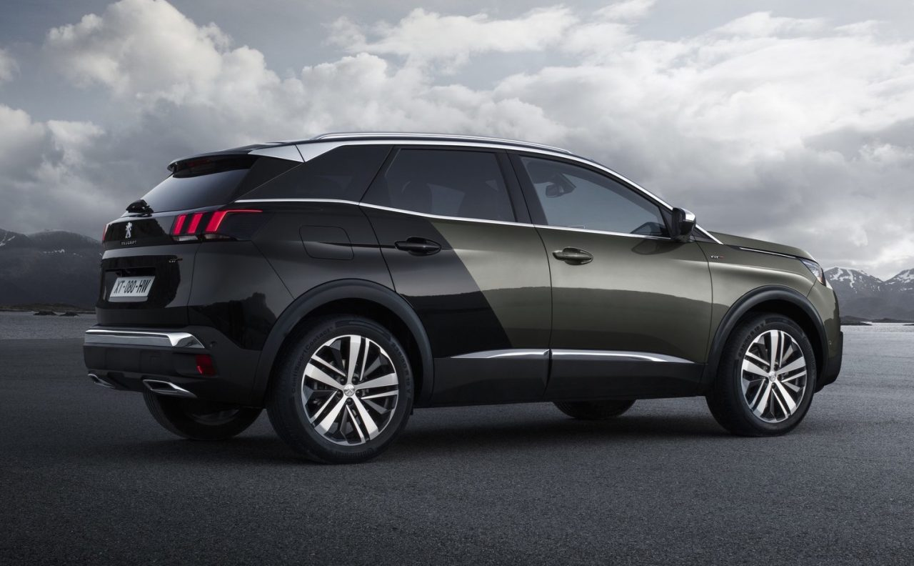 2017 peugeot 3008 gt revealed first ever 39 gt 39 suv performancedrive. Black Bedroom Furniture Sets. Home Design Ideas