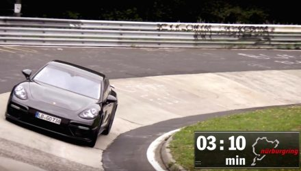 2017 Porsche Panamera breaks Nurburgring lap record (video)