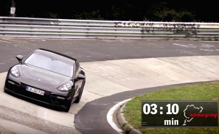 2017 Porsche Panamera-Nurburgring