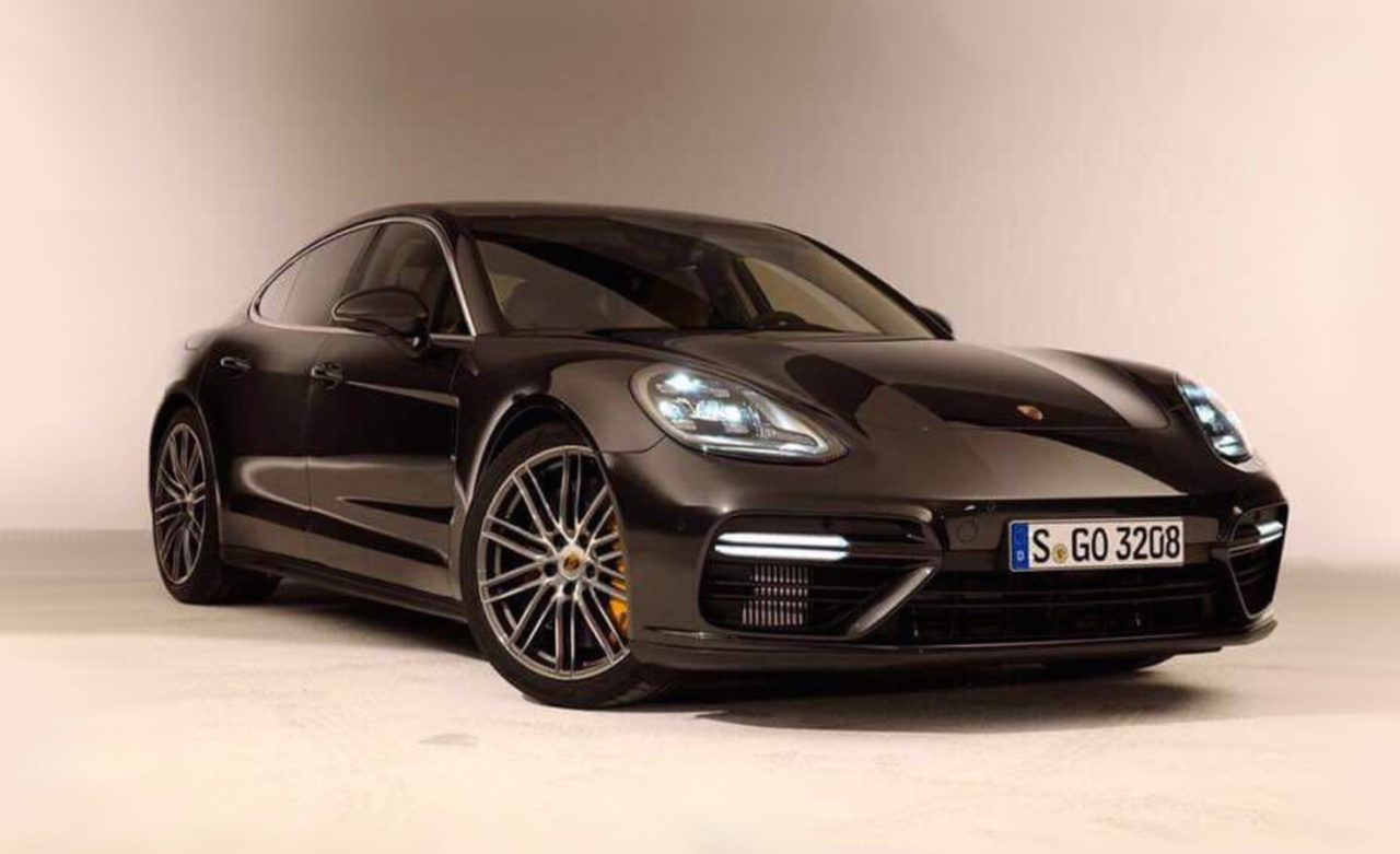 2017 porsche panamera turbo revealed in leaked images. Black Bedroom Furniture Sets. Home Design Ideas