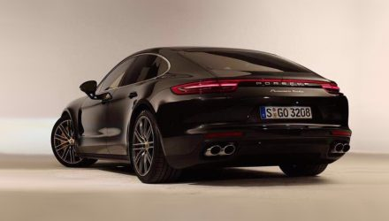 2017 Porsche Panamera Turbo revealed in leaked images
