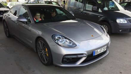 2017 Porsche Panamera spotted before June 28 debut