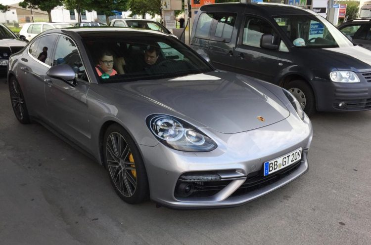 2017 Porsche Panamera spotted