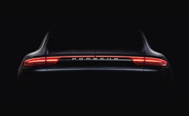 2017 Porsche Panamera taillights-preview