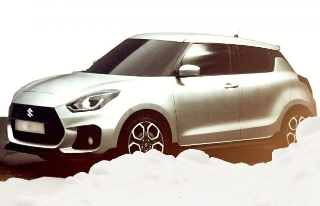 2017 Suzuki Swift-leaked