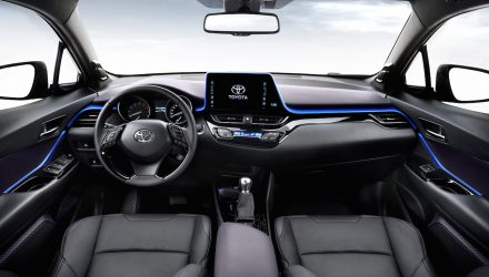 Toyota C-HR interior revealed, showcases new design philosophy