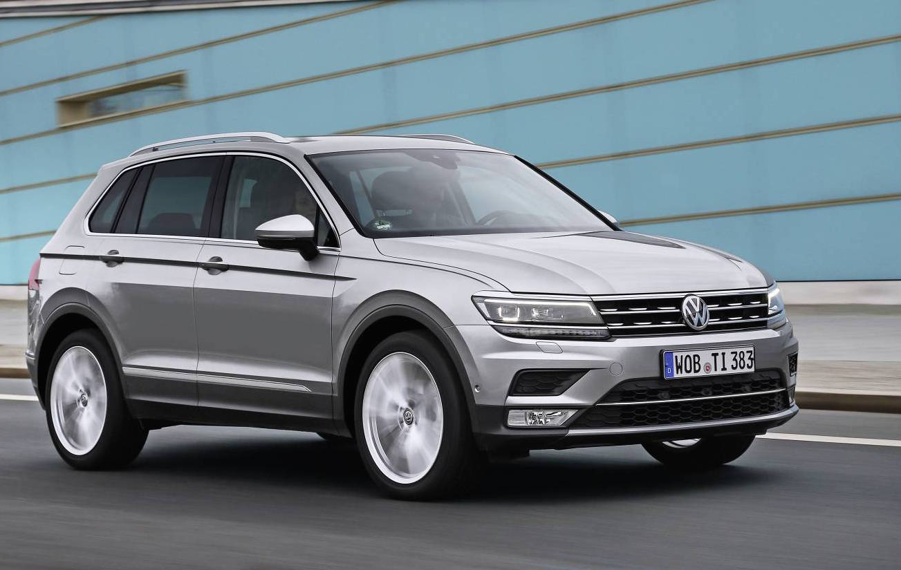 2017 volkswagen tiguan australian specs confirmed 162tsi. Black Bedroom Furniture Sets. Home Design Ideas