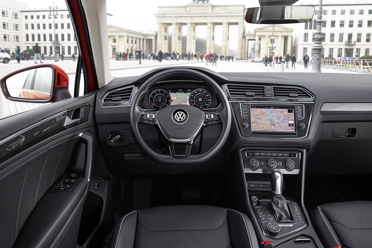 2017 volkswagen tiguan australian specs confirmed 162tsi range topper performancedrive - Volkswagen tiguan interior ...