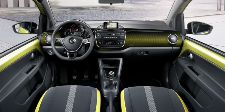 2017 Volkswagen Up TSI-interior