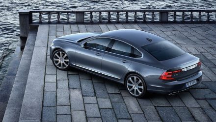 2017 Volvo S90 on sale in Australia from $79,900, arrives October