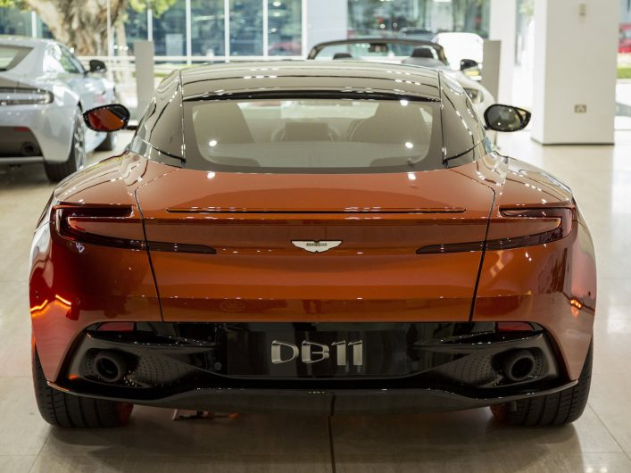 Aston Martin DB11 Sydney-rear